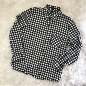 Forever 21 Checkered Flannel